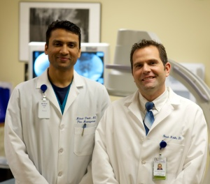 Mitesh Patel, MD, and Brad Noble, DO.