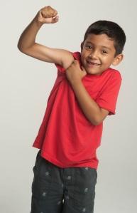2013 Kids on Track participant Jonas Nazario, 7, Parkade Elementary.