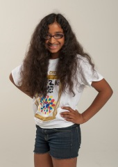 2013 Kids on Track participant Amanda Kurukulasuriya, 10, Mill Creek Elementary.
