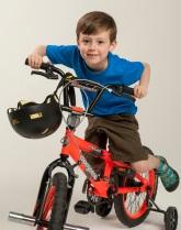 2013 Kids on Track participant Bradyn Gruenefeld, 6, Alpha Hart Lewis Elementary.
