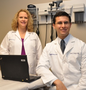 Drs. Sonya Addison and Fadi Siyam.
