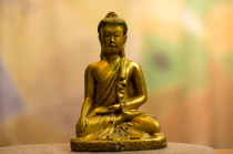 A Buddha statue from the Boone Hospital prayer room.