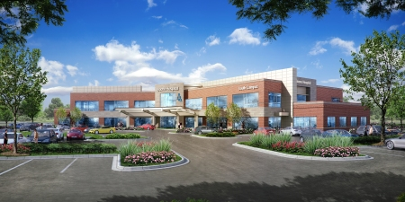 Rendering of Boone Hospital Center